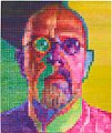 Chuck Close, Self-Portrait I, 2014