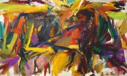 Elaine de Kooning, Bullfight, 1959. Denver Art Museum: Vance H. Kirkland Acquisition Fund. © Elaine de Kooning Trust