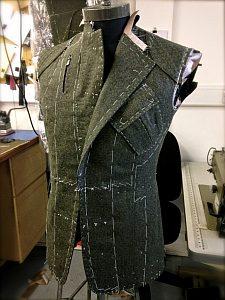 Entwurf einer Jacke für den Bentley-Fahrer. Foto: Blog Davide Taub