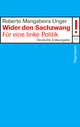 Cover: Wider den Sachzwang